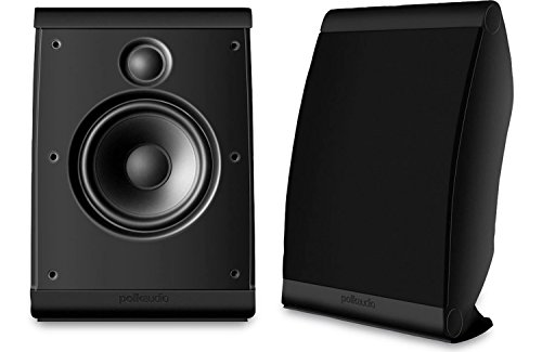Polk Audio OWM3 (Black) Surround Speaker Pair 100w, 8 Ohms