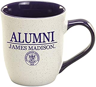 James Madison Purple Granite Alumni Mug