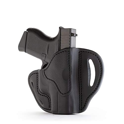 1791 GUNLEATHER Glock 43 Holster, Right Hand OWB G43 Leather Gun Holster for Belts. Fits Glock...