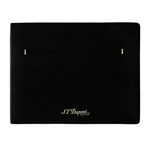 S.T. Dupont James Bond Lederen Billfold 7CC Portemonnee - Zwart
