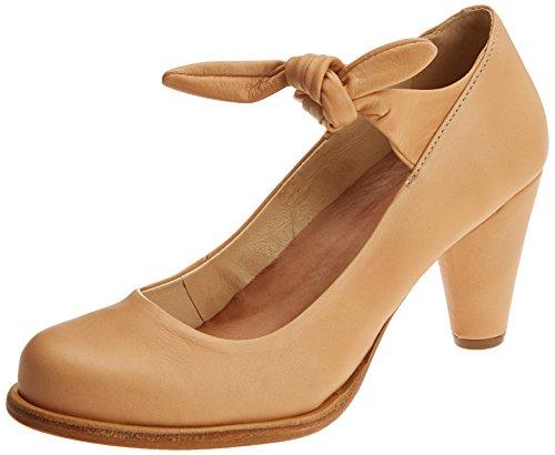 Neosens S938 Suave BEBA, Zapatos con Tacon y Correa de Tobillo para Mujer, Marrón (Wood), 39 EU