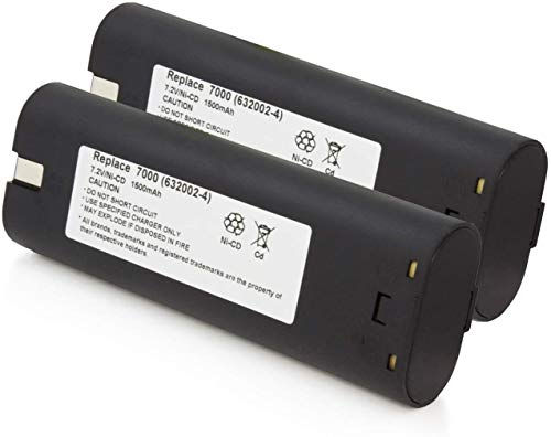 2 x NEW Replacement 7.2V 7.2 VOLT Battery for MAKITA 7000 7002 7033 632003-2 Cordless Tool
