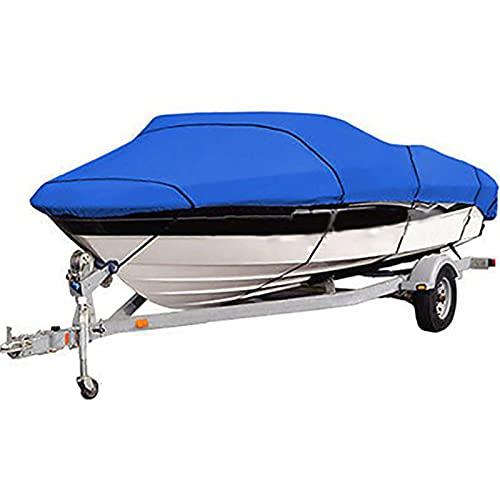 cyg Boot Persenning, 190T Oxford Stoff Bootsplane Wasserdicht Bootabdeckung Jet Ski Abdeckung Langlebig Und Reißfest Motorboot Hülle Persenning (Color : B, Size : 11-13inch)