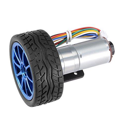 DC 12V 20RPM DC Geared Motor 4mm x 11mm DIY Intelligent robot//car motor