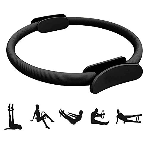FBSPORT Pilates Attrezzi 15 Pollici, Pilates Ring con Doppia Impugnatura Antiscivolo, Circle Pilates Attrezzature per Il Fitness Yoga a Casa
