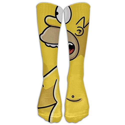 Simpson - Calcetines de compresión para mujer, cómodos, clásicos, para deportes al aire libre, para correr