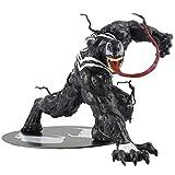 MA SOSER Marvel Legends 6 Pulgadas Figura de acción del Veneno, PVC Venom Toy, Venom Model Decoration Statue + Base magnética