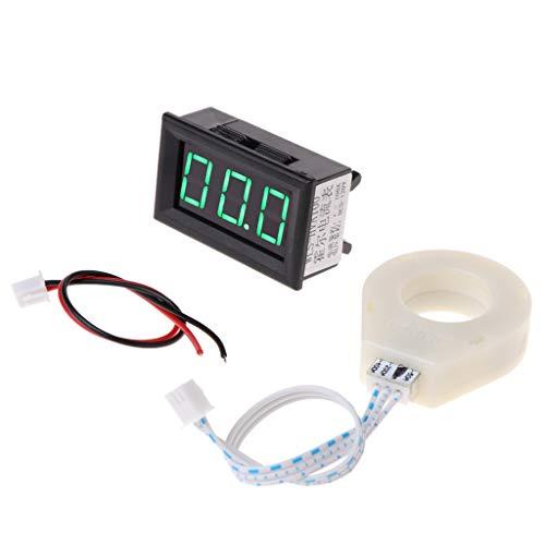 only y Mini Amperometro Digitale Voltmetro DC 5-120 V 100 A, Tester Amperometro e Voltmetro Schermo LCD con Sensore Effetto Hall