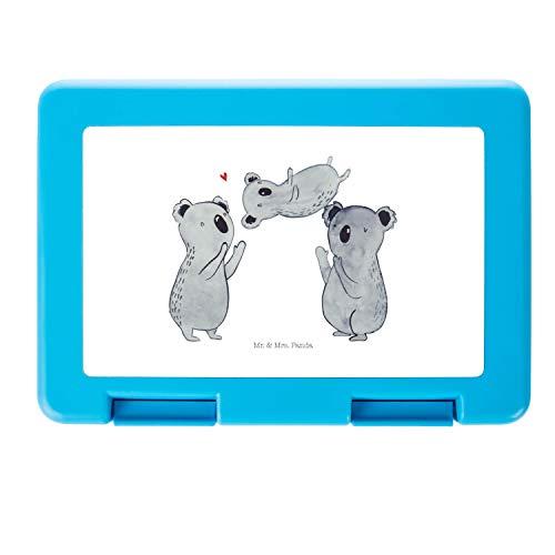 Mr. & Mrs. Panda Vesperdose, Lunch Box, Brotdose Koala Feiern Sich - Farbe Weiß