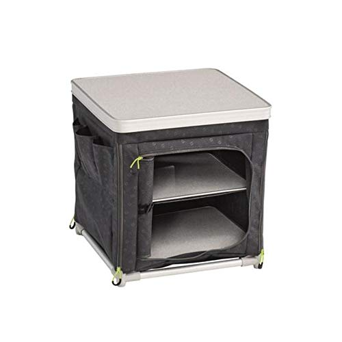 Outwell Tinos Foldable Storage Cupboard with 2 Shelves