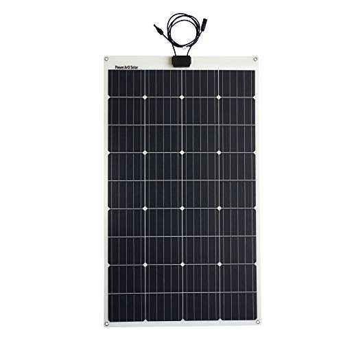 SmartTap 120W ソーラーパネル充電器 PowerArQ Solar 防水 IP65 太陽光発電 ソーラーチャージャー 高効率ソーラーパネル搭載 MC4 (120W/18V/6.6A) (防水)