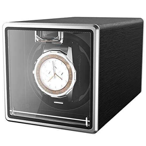 CRITIRON Automatic Watch Winder Case for 1 Watch Rotating Watches Storage...
