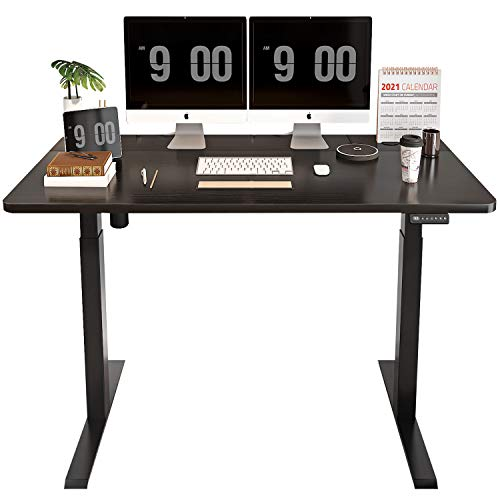 MAIDeSITe Height Adjustable Electric Standing Desk Now $124.99 (Was 249.99)