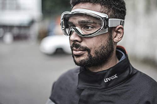 Uvex Ultrasonic Supravision Excellence Schutzbrille - Transparent/Grau-Schwarz - 4