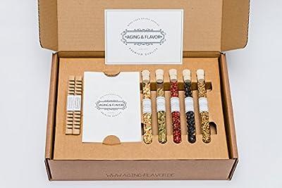 AGING & FLAVOR Gin Box: veredle Deinen Gin und erstelle Deine persönliche Kreation!