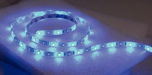 "T-H Marine LED-51957-DP LED Flex Strip Rope Light, 72"" - Blue"