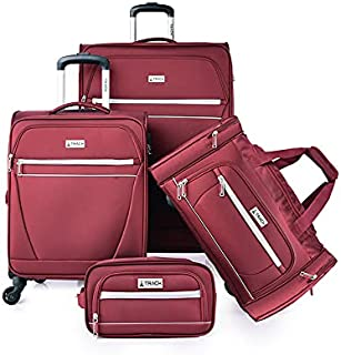 TRACK Luggage set 3 pieces size 28/20/20/11 inch 19N134/4P (Burgundy)