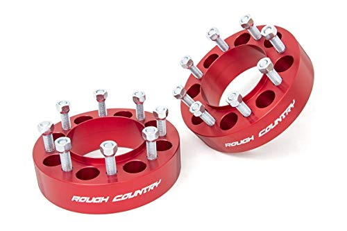 Rough Country 2'' Hub Centric Wheel Spacers for 03-20 F250/F350 Super Duty -...