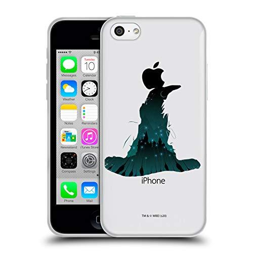 Head Case Designs Oficial Harry Potter Clasificación Sombrero Harry Y Voldemort Reliquias de la Muerte XXII Carcasa de Gel de Silicona Compatible con Apple iPhone 5c