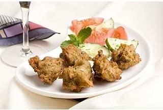 Monsoon Kitchens Vegetable Pakora Appetizer, 4 Pound -- 2 per case.