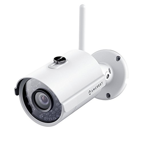 Amcrest IP2M-842W ProHD Outdoor 1080P Wi-Fi Wireless IP Security Bullet Camera