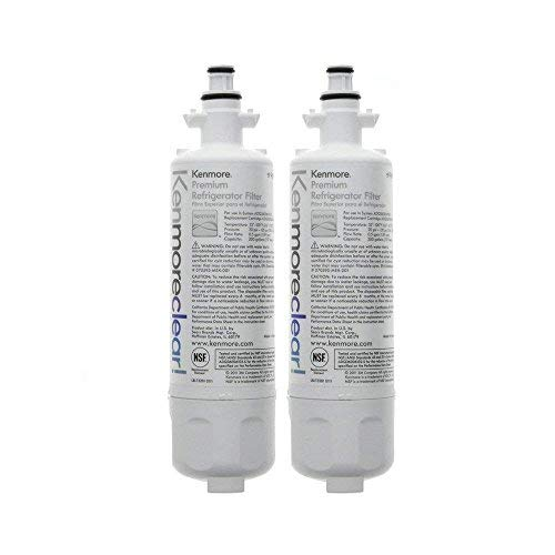 Kenmore 9690 LT700P Replacement Refrigerator Water Filter Clear -2pack