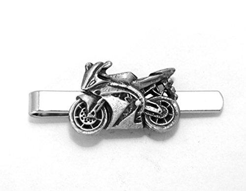 Moto Pince à cravate (diapositive), fait à la main, coffret cadeau, Moto (H)