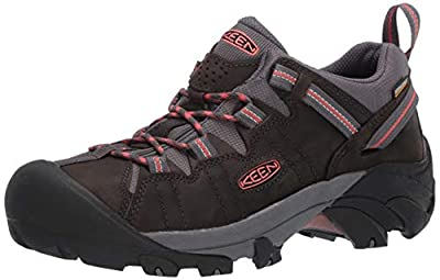KEEN Women's Targhee II WP Hiking Shoe, Black, 8