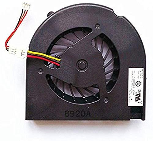 wangpeng Ventilador de CPU de Repuesto para HP Compaq Presario G50 G60 G70 CQ50 CQ60 CQ70 G50-100 G60-100 G60-200 CQ50-100 CQ50-200 CQ60-100 CQ60-200 Series 489126-001 KSB05105HA -8G99 MCF-W11BM05