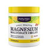 El magnesio reaccionado completamente Bisglicinato quelato de 8 oz (227 g) - Orígenes saludables