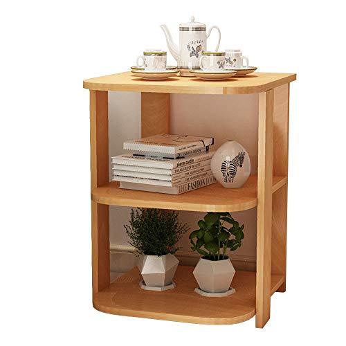 OUPAI MESAS Mesa lateral de madera, una pequeña mesa de café sofá de la sala gabinete lateral esquina mesa de noche Tabla tabla creativa lateral pequeña mesa de té para el dormitorio de la sala de est