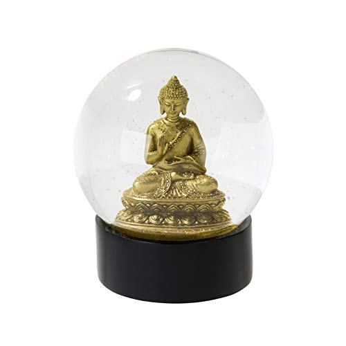 Talking Tables EMP-GLOBE-BUDDHA Cadeau Boule à Neige Paillettes | Bouddha, Multicolor