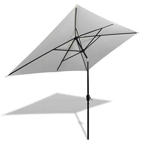 Festnight Sombrilla Terraza Parasol para Patio 200 x 300 cm