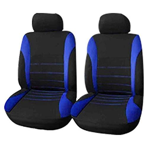 Swify Fundas para Asientos de AutomóViles 4PCS Fundas para Asientos Delanteros para AutomóViles Fundas para Asientos Delanteros con Bolsa de Aire Delantera Ready Sport Bucket Seat Cover