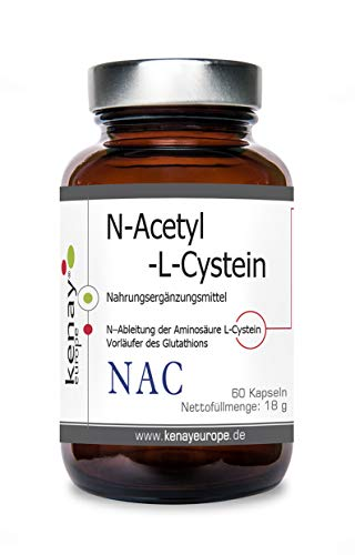 NAC | N-Acetyl L Cystein | (60 Kapseln) | Kenay Europe