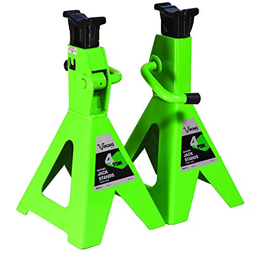 AFF 55040 Viking 4 Ton Ratcheting Style Jack Stand Set