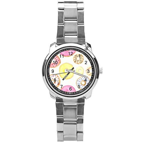 Soloatman Lemons Reloj de pulsera de cuarzo para hombre y niño, estilo casual