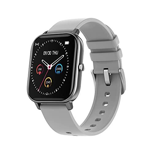 Smart Watch 1.4 pulgadas HD Pantalla táctil completa Pulsera deportiva Pronóstico del tiempo RECORDATORIO DE MENSAJE DE MENSAJE DE CALORIE PEDETHER FITNESS CRACKER MEN Mujer IPX7 Reloj inteligente imp