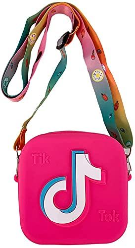 Pequeña niña monederos mini linda princesa TIK tok bolsos hombro mensajero bolsa juguetes regalos crossbody bolso