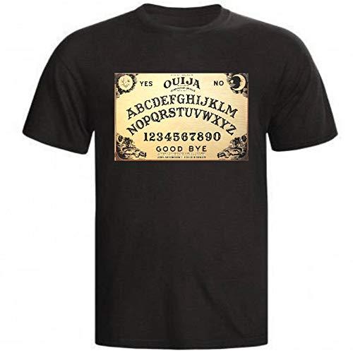 Camiseta Tabuleiro Ouija Horror Terror camisa babylook blusa (Infantil - 8, Preto)