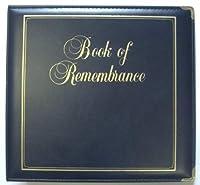 Executive Book of Remembrance Binder, Navy [並行輸入品]