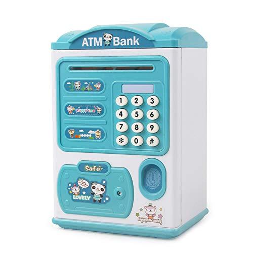 household items Hucha electrónica, Mini alcancía con contraseña de cajero automático, Caja Fuerte para niños, Muy Adecuada para Regalos de Juguete para niños y niñas