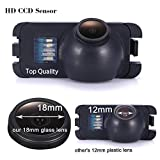 Super HD vehicle camera 1280x720 pixels Waterproof Vehicle Car Rear View Backup Camera, 170° reverse parking for Ford Focus 2 Mondeo MK4 C-MAX MK2 Grand C-MAX MK2 S-MAX Galaxy Fiesta MK6 Kuga Ecosport