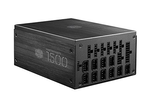 MasterWatt Maker 1500 Digital Power Supply All-Aluminum 80PLUS Titanium 94% Efficiency