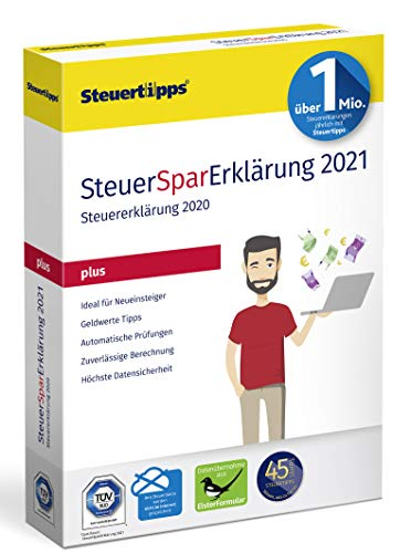 SteuerSparErklärung Plus 2021 (für Steuerjahr 2020)