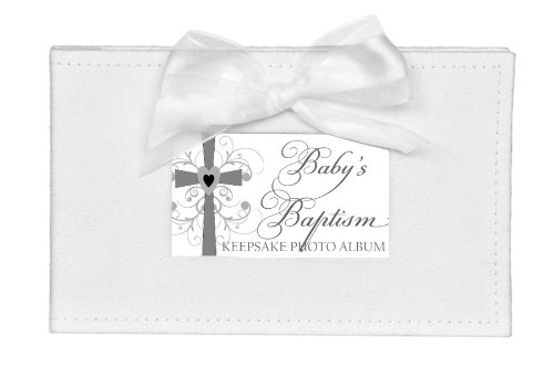The Grandparent Gift Co. Growing in Faith Keepsake Photo Album, Baby Baptism by The Grandparent Gift Co.