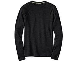 SmartWool Men's NTS Mid 250 Crew Top Charcoal Heather T-Shirt XL