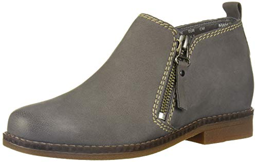 Hush Puppies Women's Mazin Cayto Ankle Boot, Smoke Nubuck, 09.5 W US