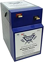 Battle Born LiFePO4 Deep Cycle Battery - 100Ah 12v GC2 + Built-in BMS - 3000-5000 Deep Cycle Rechargeable Battery - Perfect for RV/Camper, Marine, Overland/Van, and Off Grid Applications