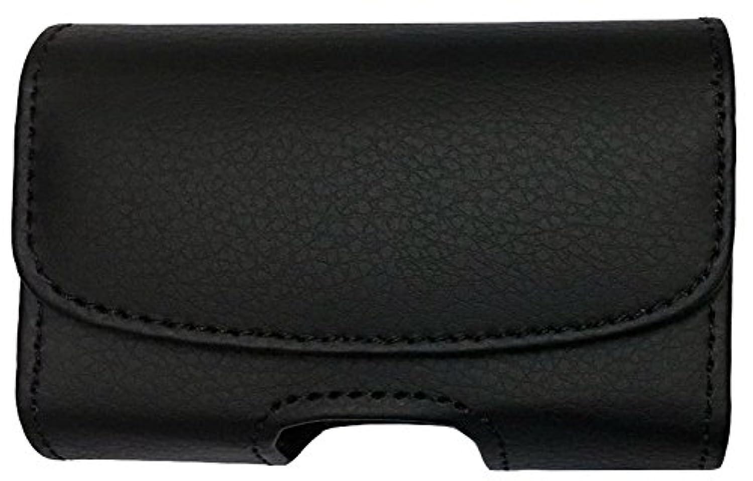 Classic Premium Pouch Case with Belt Clip for Dexcom G6 CGM System (Dexcom G6 Continuous Glucose Monitoring) -SNK Retail Packaging (H1-Black/VE)